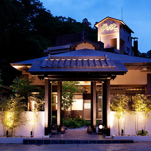 会津東山温泉 客室専用露天風呂付のスイートルーム はなれ 松島閣/外観