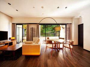 会津東山温泉 客室専用露天風呂付のスイートルーム はなれ 松島閣/客室