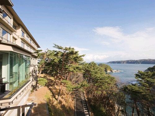 【新幹線付プラン】浄土ヶ浜パークホテル(びゅうトラベルサービス提供)/外観