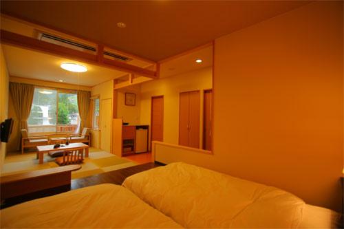【新幹線付プラン】野沢温泉 野沢グランドホテル(びゅうトラベルサービス提供)/客室