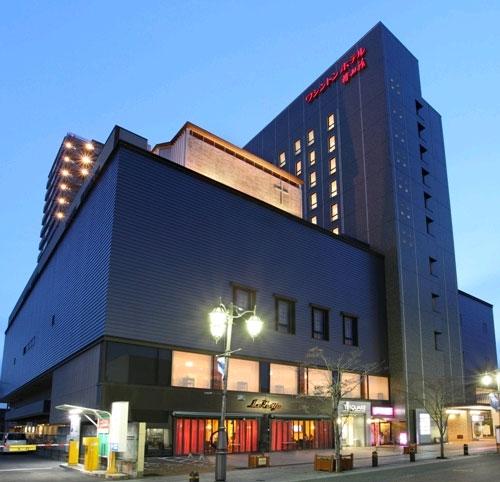 【特急列車付プラン】いわきワシントンホテル椿山荘(びゅうトラベルサービス提供)/外観