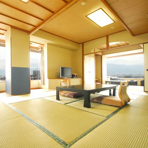 【特急列車付プラン】石和温泉 ホテル八田(びゅうトラベルサービス提供)/客室