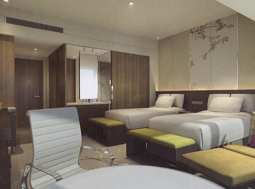 大阪マリオット都ホテル/客室