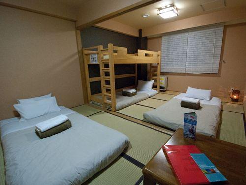 カオサン札幌ファミリーホステル (旧:インターナショナルホステル カオサン札幌)/客室