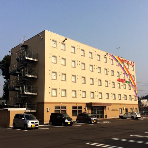 HOTEL AZ 佐賀伊万里店/外観