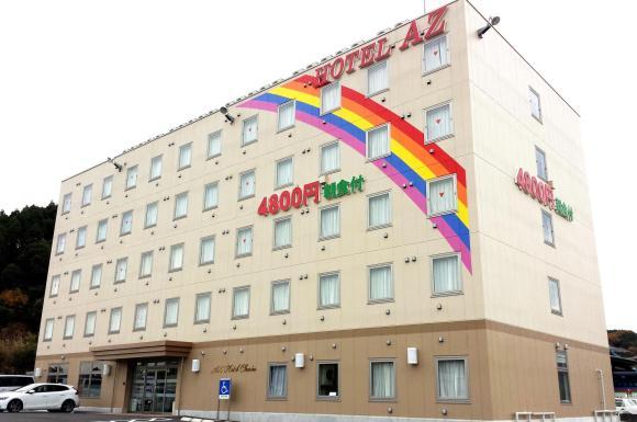 HOTEL AZ 宮崎北日向店/外観