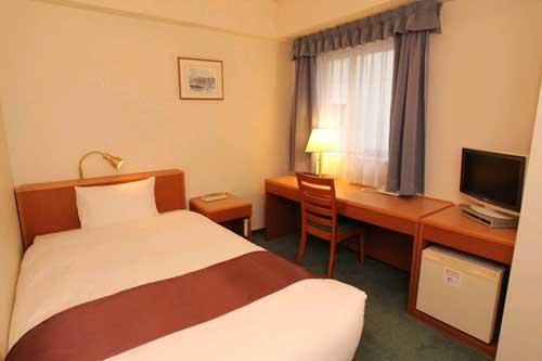 【JR列車付プラン】天然温泉 八百治の湯 八百治博多ホテル(JR九州旅行提供)/客室