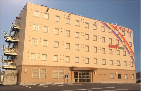 HOTEL AZ 鹿児島姶良店/外観