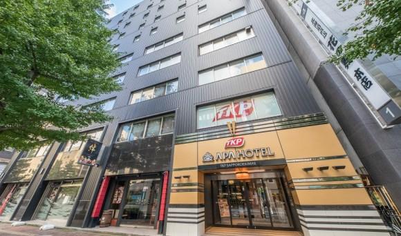 アパホテル<TKP札幌駅前>/外観