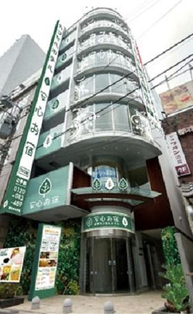 豪華カプセルホテル 安心お宿プレミア新宿駅前店/外観