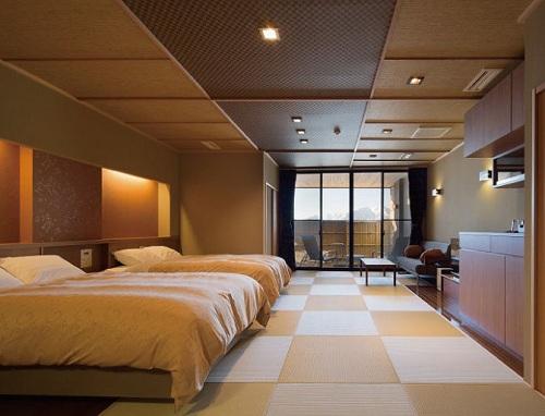 天然温泉露天風呂全室完備 満天の宿/客室