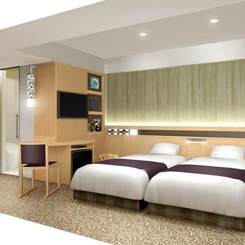 アーバンホテル京都二条プレミアム/客室