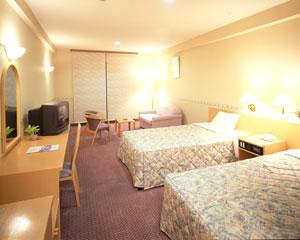 【特急列車付プラン】稲佐山観光ホテル(JR九州旅行提供)/客室