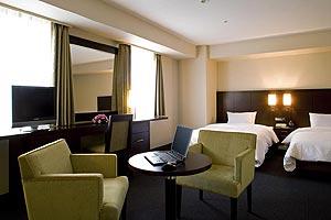 【新幹線付プラン】ホテル ラングウッド(びゅうトラベルサービス提供)/客室