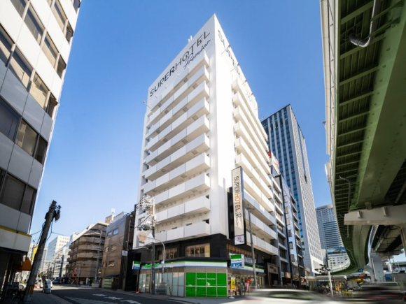 スーパーホテルLohas地下鉄四つ橋線・本町24号口/外観