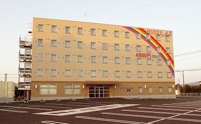 HOTEL AZ 宮崎都農店/外観
