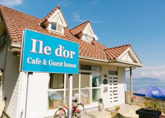 Ile d'or cafe&guesthouse <大飛島>/外観