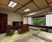 鳴子温泉 湯元 吉祥/客室