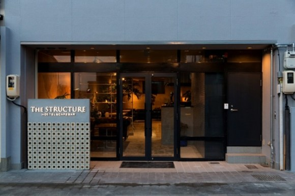 THE STRUCTURE HOSTEL&CAFEBAR/外観