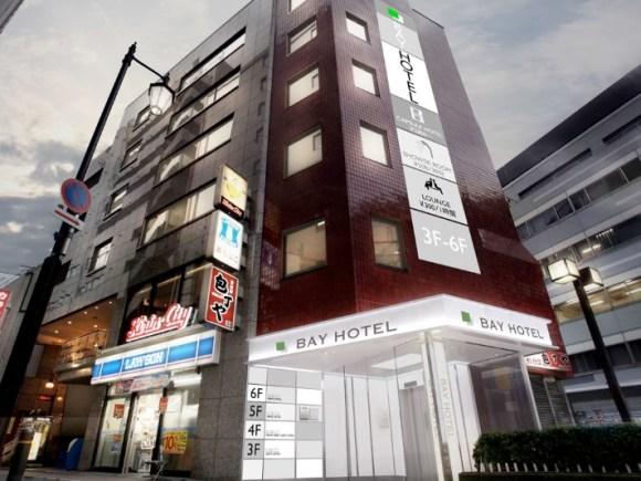 田町BAY HOTEL(2016年11月1日オープン)/外観