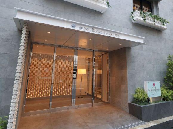 ホテル サクラスイート大阪十三/外観