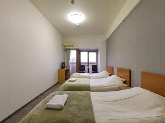 メルディアホテル京都二条(2017年2月1日オープン)/客室