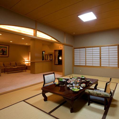 高知城下の天然温泉 三翠園(さんすいえん)/客室