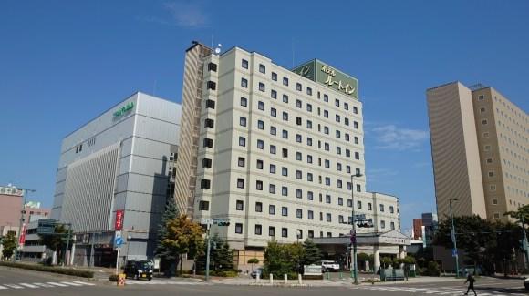 天然モール温泉 ホテルルートイン帯広駅前/外観