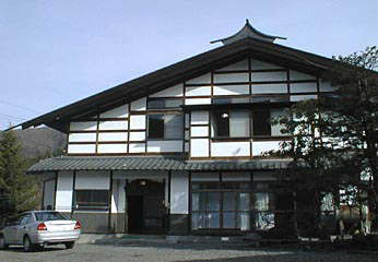乗鞍高原 古里の暖かさの温泉宿 寿家/外観