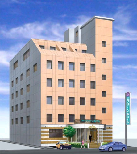岡山グリーンホテル/外観