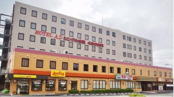 HOTEL AZ 熊本大津店/外観