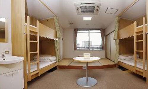 新大阪ユースホステル/客室