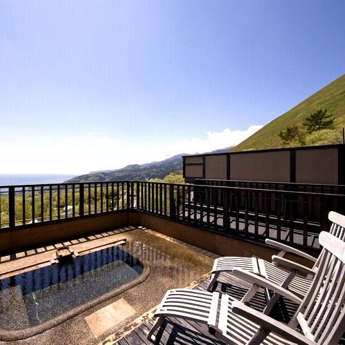伊豆高原温泉 全室露天風呂付 二階家離れの宿 お宿うち山/客室