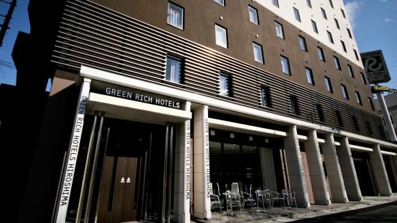 グリーンリッチホテル広島新幹線口/外観