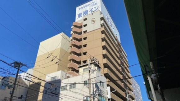 東横イン大阪梅田東/外観