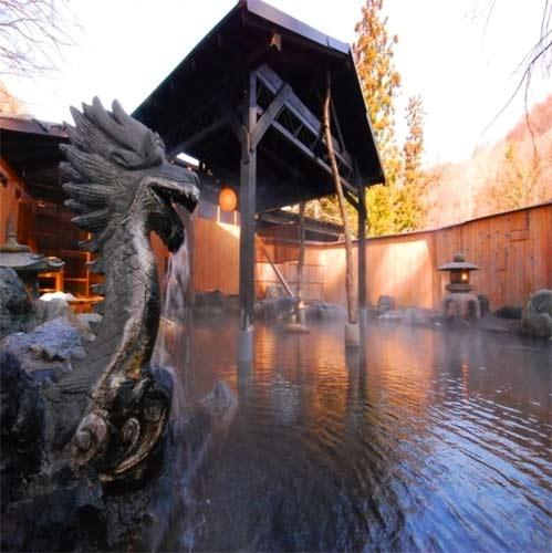 源泉掛流しの湯めぐりテーマパーク 龍洞/客室