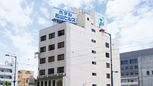 ホテル松山ヒルズ JR松山駅前店(BBHホテルグループ)/外観
