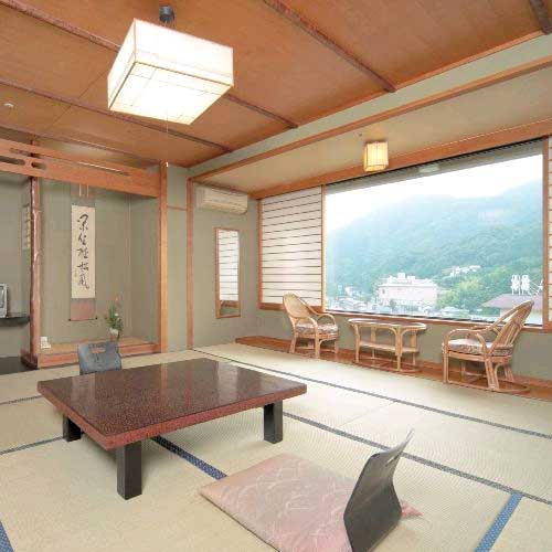 長門湯本温泉 山村別館 と 別棟 温泉付き離れしぇふず/客室