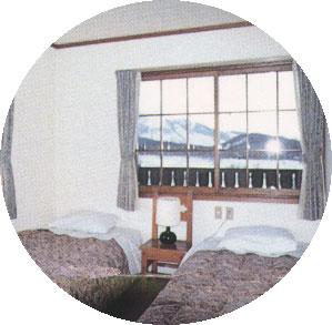 ペンション シャモニール白馬/客室
