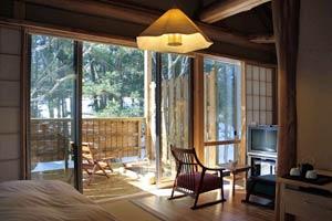 温泉山荘だいこんの花/客室