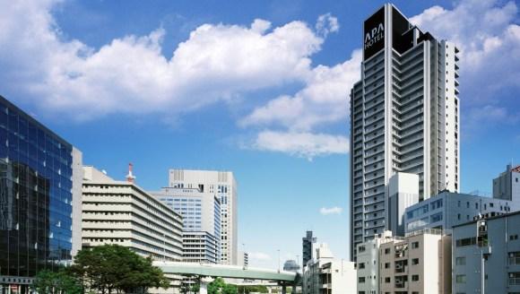 アパホテル<大阪肥後橋駅前>/外観