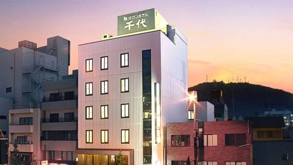 タウンホテル千代/外観