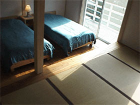 BLUEinGREEN/客室