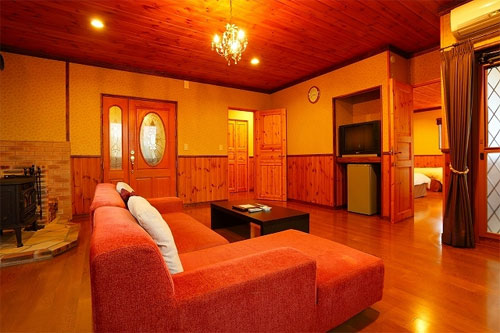 阿蘇火の鳥温泉 欧風料理宿 ログ山荘 火の鳥/客室