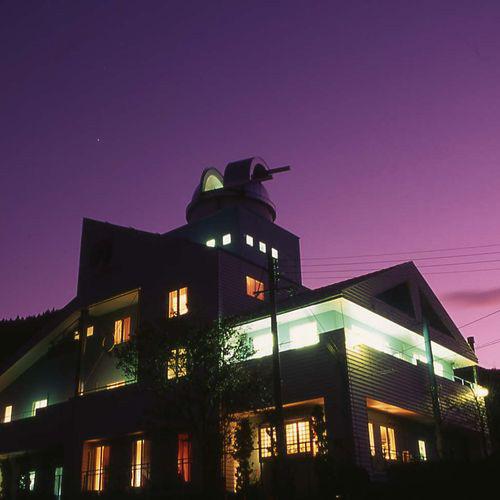 神鍋温泉 オーベルジュ アルビレオ天文台/外観