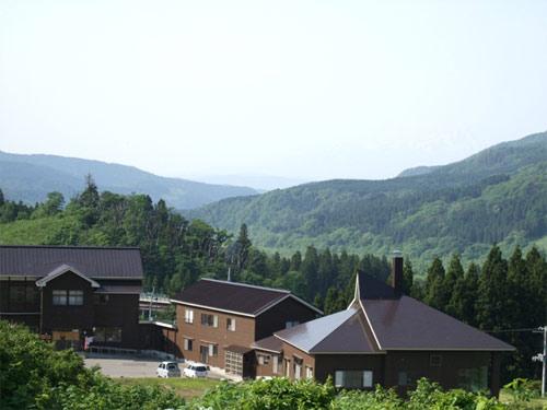 月の沢温泉北月山荘/外観