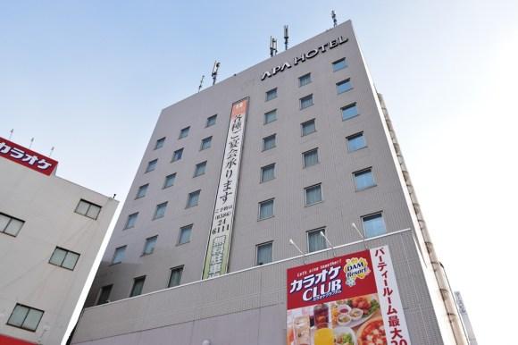 アパホテル<尾張一宮駅前>/外観
