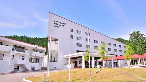 立山山麓温泉 立山国際ホテル/外観