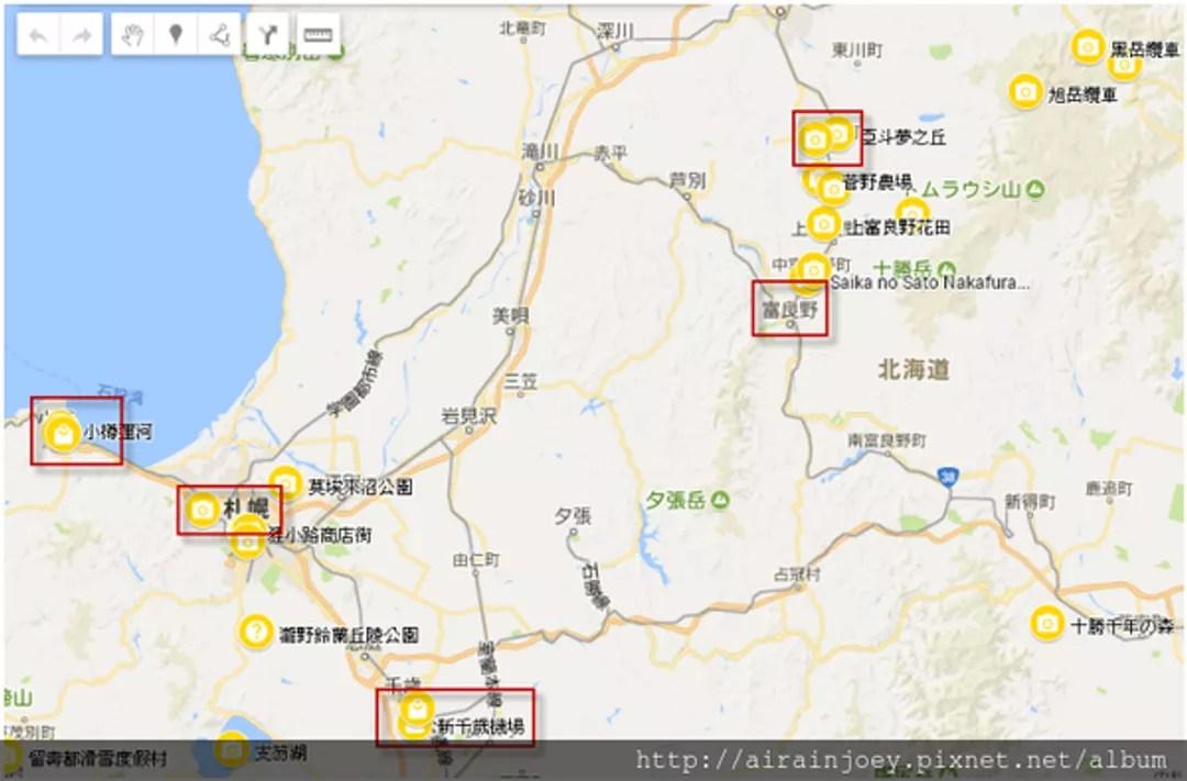 北海道自由行攻略05-北海道旅遊路線範例@airainjoey (32545) - 旅行酒吧