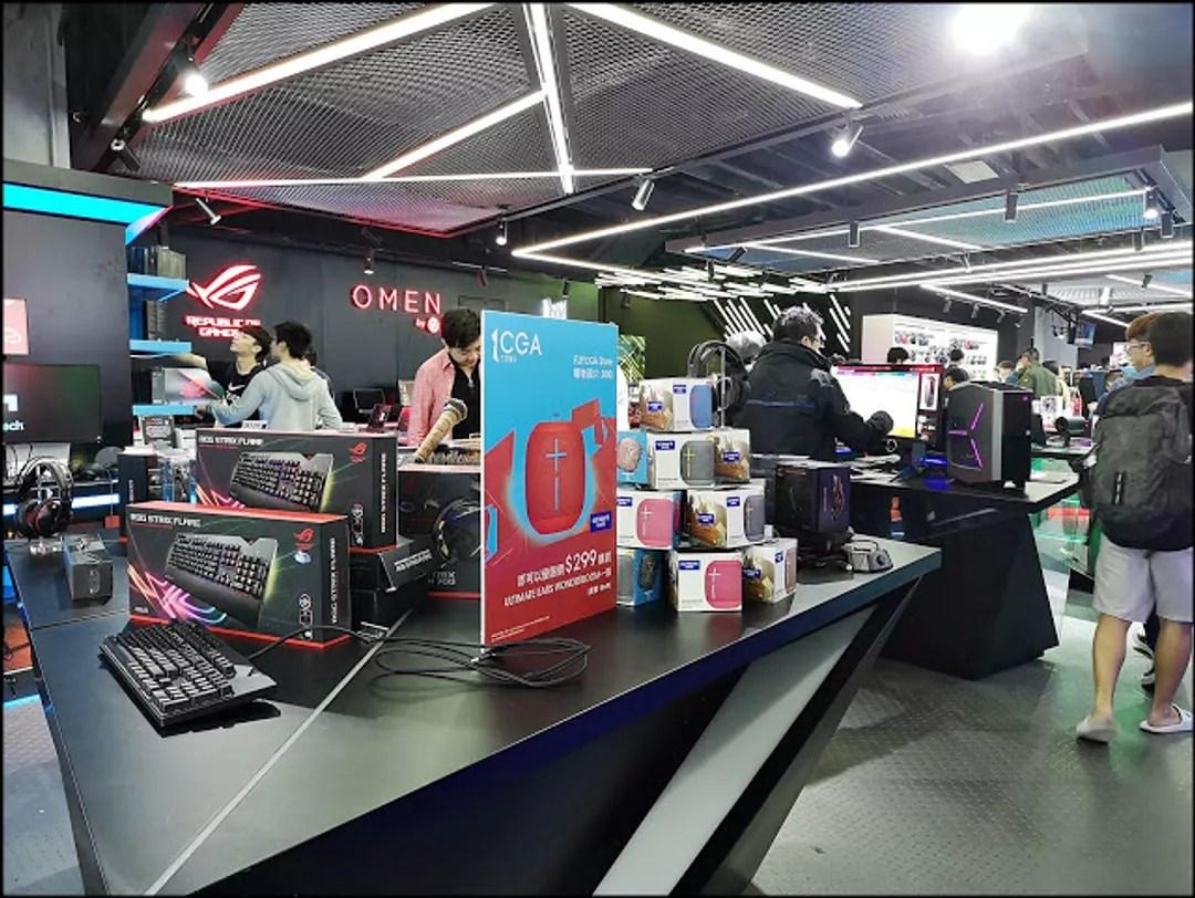 旺角新場 CGA 電競館 全亞洲最大型 Cyber Games Arena CGA eSports Stadium 24小時營業 VR@林公子 (70967) - 旅行酒吧